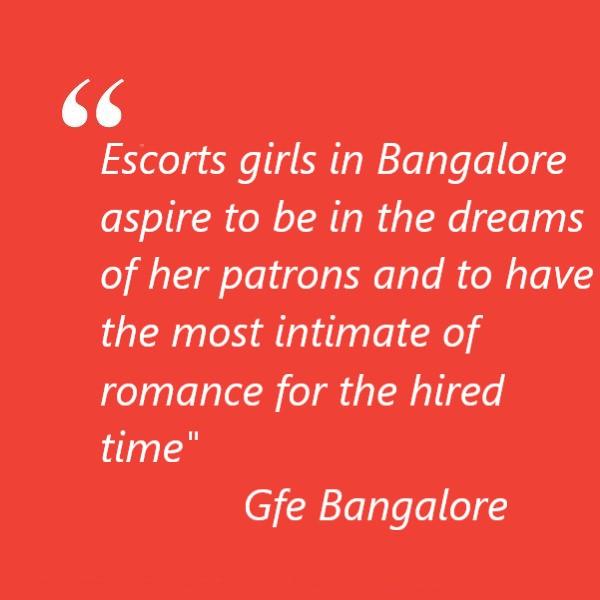 Life of Bangalore escorts