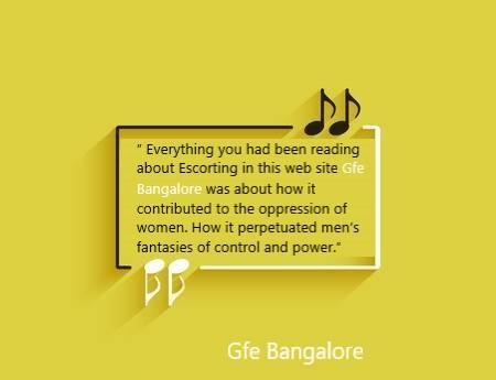 Bangalore escorts lies